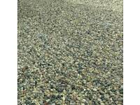 20-40mm Drive gravel recycled washed pebbles hardcore stone top soil sub base type 1