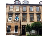 Office spaces to let, 90-1,130 sq ft, North Claremont Street, Park area, Glasgow, G3