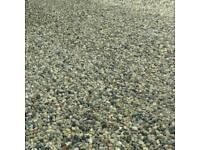 Drive gravel stones pebbles hardcore shingle grit river sharp building sand top soil scalpings turf