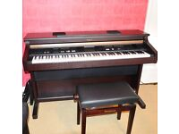 ROLAND KR107 DIGITAL PIANO + STOOL WAS £3K EXCELLENT CONDITION COLLECTION SL5