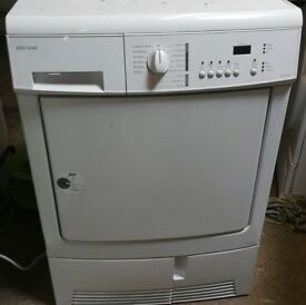 JOHN LEWIS 7KG CONDENCER TUMBLE DRYER IN GOOD WORKING ORDER