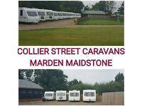 2 4 5 6 berth Bailey , Coachman,Swift ,Abbey caravans