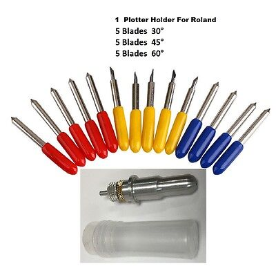 Blade Holder For Roland Gcc  15 Free Blade Cutting Plotter