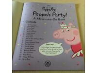 NEW Peppa Pig's Party Make-and-Do