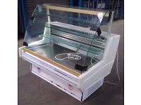 Commercial glass counter DISPLAY cabinets fridge WITH DRAWERS for shop restaurant and catering