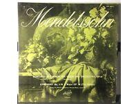 Mendelssohn Concerto (E Minor), Symph No.4 (A Major) Op.90 12 inch VINYL