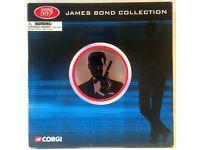 Corgi James Bond 007 8 Piece Model Car set in Metal Film Canister TY99135