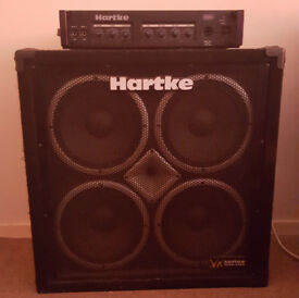 Hartke Bass Amp and Head Unit