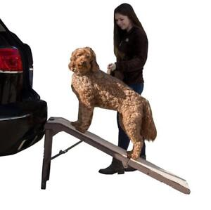 NEW Pet Gear Free Standing Pet Ramp for Cats and Dogs up to 200-Pound, Chocolate