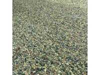 Drive gravel shingle pebbles stone top soil hardcore grit river sharp building sand planings turf