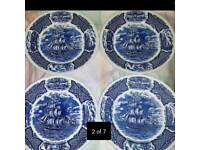 4 X PLATES ALFRED MEAKIN ↔ IF READING THIS THEY WILL STILL BE FOR SALE
