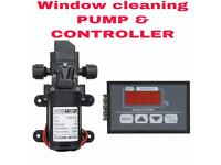 WFP window cleaning 130psi pump and digital pump controller