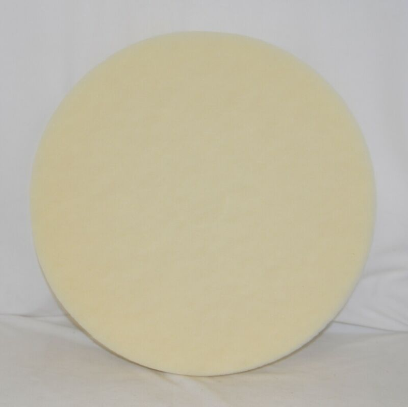 Glit Microtron 14421 White Super Polish Floor Maintenance Pads 21 Inch 5 Pack