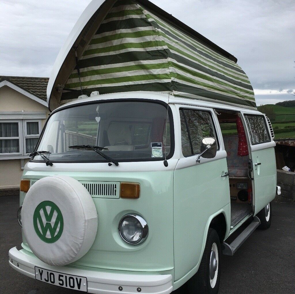 f505a3eef50377 VW CAMPERVAN 1979 BAY NEW 2L ENGINE RHD POP UP ROOF ...