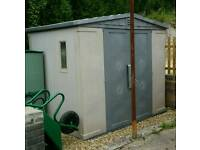 KETER PLASTIC SHED 6ft x 8ft