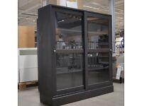 (1st) HAVSTA glass-door cabinet & plinth, dark brown, 121x35x123 cm, IKEA Bristol #bargaincorner