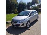 VAUXHALL CORSA 1.2 ACTIVE AC 2012 LOW MILES MET SILVER FULL SERVICE HISTORY EXC CONDITION