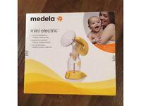 Mini Medela electric breast pump BNWT