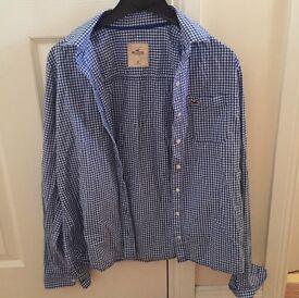 Ladies Hollister Navy Blue Shirt