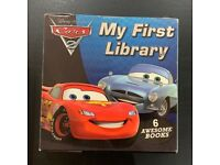 Disney Cars My First Library 6 books