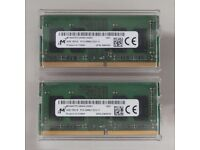 Micron DDR4 SO-DIMM PC4-2666 8GB (2x4GB) from Alienware laptop