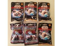 Star Wars - 6 Packs Selection - Brand New / Unopened