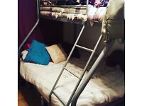 Triple bunk bed, double on bottom single on top. Good as new condition had for approx 1 year.