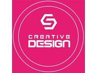 Graphic Design Services, Website Design, Logo, Business Cards, Menu Design, Covid-19 signs, Posters