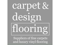 Carpet & Vinyl flooring supplied and fitted. Best rates, highest quality