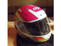 AVG Motorcycle Helmet - Quasar - Size XL - Nearly Mint Condition