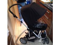 Mamas and Papas Zoom buggy with raincover