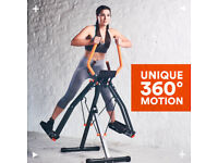 Maxi Glider 360 10-in-1 Fitness Excercise Machine NEW
