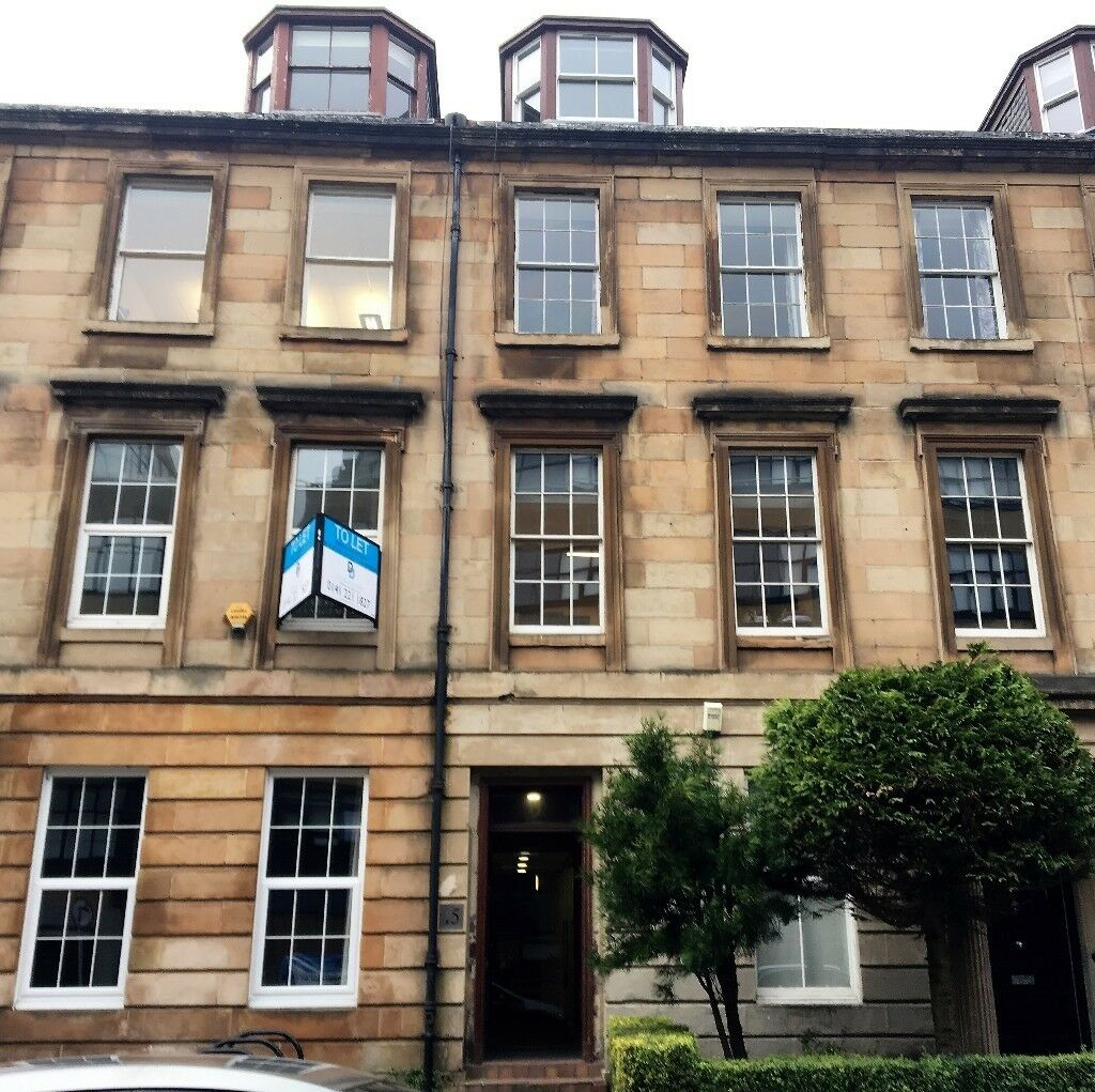Small Workshop For Rent Glasgow: Office To Rent 300 Sq.ft. North Claremont Street, G3