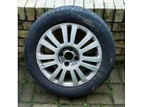 Citroen c5 alloy wheel and tyre
