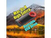 MacOS 10.13 High Sierra USB CLEAN INSTALL, UPGRADE OR RECOVER NEW