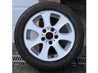 GENUINE BMW 1 SERIES ALLOY & TYRE FOR SALE