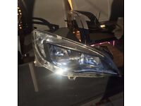 Vauxhall Astra J 2010-2015 ORIGINAL O/S DRIVER SIDE HEADLIGHT