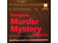 'Complete Murder Mystery Night In' CD Game (as new, 2010)