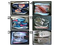 Unisex trainers & running shoes - incl very rare Nike, Adidas, Vans - see details