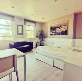 Bright Studio Flat to Rent - Stoke Newington Common, London N16