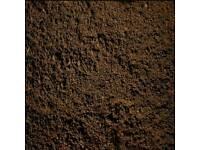 Screened top soil