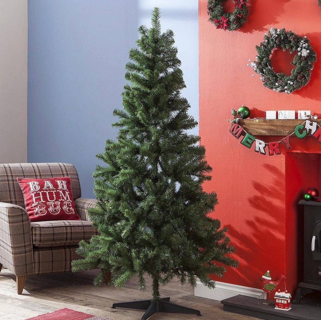 6ft artificial Fir Christmas Tree + lights