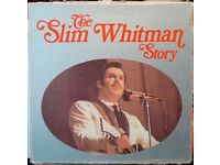 6 WRC vinyl LPs box set, THE SLIM WHITMAN STORY.