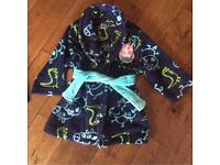 Baby boys Peppa Pig dressing gown. 12/18 mths. Great condition £5