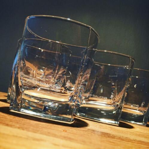 Lot de 6 verres Johnnie Walker on the rocks