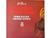 JS Bach — George Malcolm - Northern Sinfonia – Brandenburg Concertos 1, 2, 3 Vinyl Records