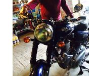 Royal Enfield Electra Royal Blue Excellent condition