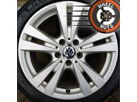 "17"" Genuine alloys VW Golf Caddy Leon A Class Michelin tyres."