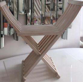 Contemporary Italian folding chair