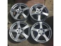 17 inch dezent alloy wheels for Mercedes Audi seat Skoda vw 5x112 18